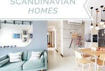 Scandinavian Homes / The Scandinavian-style embodies simplicity, functionality, and minimalism. When done right, it is versatile, comforting, cosy and always fresh.