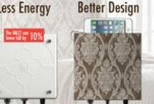 Cool Wallpaper Designs / Wallpapers We Love! Hide those Ugly Outlets with a Matching Wallpaper Faceplate!