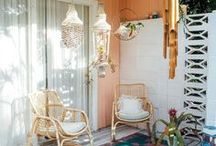 SPACES TO LOVE / A Laundry Room babe needs the right space for leisurely laying back.