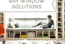 Bay Window Solutions / If you're looking for ideas on how to transform your bay window into a magical space to retreat to from the hubbub of life, click in get truly inspired by our pins - all local images of homes in Singapore.