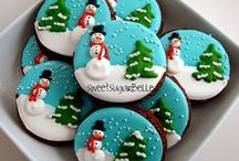 Christmas Biscuits & cup cakes