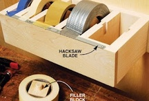 shop, woodworking, hyper organizing / by Danny Acton
