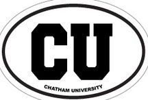Chatham Pride / A collection of the apparel and items that let us show our Chatham pride! / by Chatham University