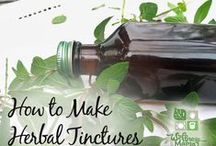 Wildcrafting, Herbs, Essential Oils, Teas & Tinctures / by Dixie D.