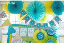Classroom Decor / This board is all about making your room look awesome, but also functional and real!  Awesome organizational and arranging ideas all in one place