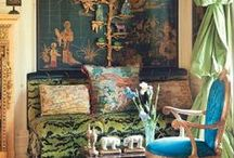 Love me some chinoiserie!