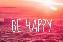 Happiness Quotes / A bit of happiness for your day. Don't forget to smile.