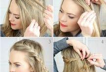 Tips & Trix - Gör det själv frisyrer / Tips & trix vad du kan göra med ditt hår och massa andra spännande pins som råd och hårvård. Massor med steg för steg frisyrer att testa hemma Läs mer och se massor av andra bilder här www.harfrisyrer.se