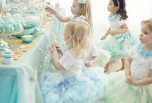 """Parties """"for children"""" / A collection of fun themes, cakes and games for children's parties."""