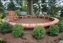 """Teaching - """"Outdoor Classrooms"""" / Ideas for creating outdoor learning spaces"""