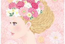 Satoko Miyakawa illustration / イラストレーターみやかわさとこのお仕事やオリジナルの作品集です  Satoko Miyakawa's works and original illustrations gallery