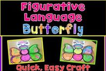 Figurative Language & Poetry / Metaphors, Similes, Idioms, Hyperbole, Poetry with practical classroom ideas for busy teachers