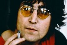 John Lennon / My True Love, Just the Perfect Amount of Bad Boy, Confidence, Crazy & So HoTT!  / by Tina