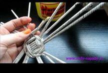 papír - pletení