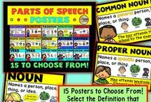 Grammar/English / Engaging products, ideas, tips, and strategies for teaching grammar and English Language Arts in elementary, upper grades, and middle school!