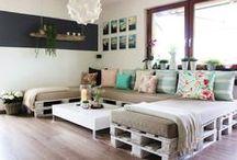 palety a přepravky, nábytek, dřevo