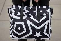 City Satchel Collection / Gender-neutral, over-sized City satchel collection.