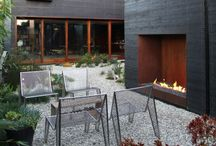 Hot Out Here / Modern Outdoor Fireplaces
