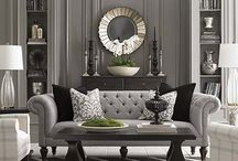 Living / Living Rooms. Simple or complex, spaces to luxuriate in and to entertain.
