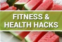 Fitness & Health Hacks / Make the most out of your workout and nutrition regimen via time-saving hacks that make you more efficient.