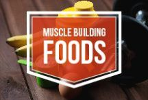Muscle Building Foods / Putting on lean muscle is no easy task. With 80% of results stemming from your efforts in the kitchen, this is your resource to stay at a calorie excess and protein overload. Ladies and gentlemen, bulking season is in full effect.