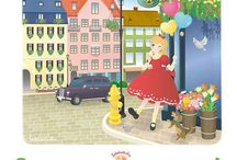 Satokostudio Cute illustrations / Characters illustration