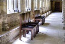 Kirchen und Kirchenstühle / Kirchenstühle aus Holz