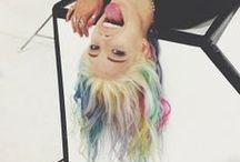 """☮""""You know, I've been playing with my hair color ever since I was nine."""" / by SaraClarissa McQueen"""