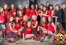 Suicidal Saucies / Queen City Roller Girls Team: Suicidal Saucies/Roller Derby http://www.qcrg.net/people/suicidal-saucies/