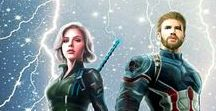 Loki and Thor and Marvel films wallpapers