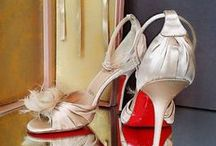 CHRISTIAN LOUBOUTIN COLLECTION / Christian Louboutin is a French footwear designer whose footwear has incorporated shiny, red-lacquered soles that have become his signature.
