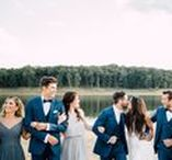 Colored Tuxedos & Suits Inspiration / For those of you that are wanting to get away from the basic black tuxedo and try something new!
