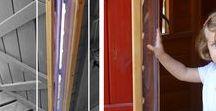 Seguridad en nuestras casitas para niños / Elementos de seguridad que incluyen todas nuestras casitas para niños.