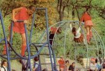 Régi játszóterek / Régi, retro játszóterek, mászókák, hinták....azzal a bizonyos életérzéssel... :)