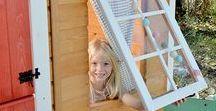 Detalles casitas de madera para niños Green House