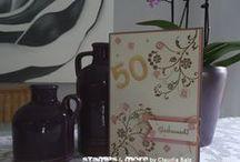Karten zur Hochzeit / Jubiläum / Stampin' Up! Karten zur Hochzeit / Jubiläum Stampin' Up! Wedding Cards