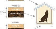 Detalles casetas para perros / Dog houses details