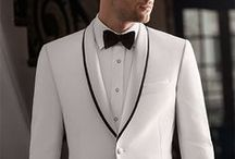 White Tuxedos & Suits Inspiration / Sort through our growing selection of white tuxedos and suits.