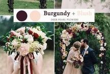 Wedding Color Palette Inspiration / Find wedding color inspiration and discover the right color combinations for your special day.