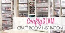 Craft Room Inspiration / Great Craft Rooms Ideas