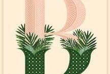 [typography illustration advertising]