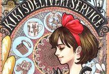 ghibli, manga, anime, menwha, fan art