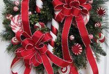 Ajtódísz./ Wreaths.