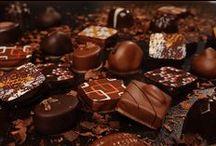 bombones trufas y turrones / chocolate y mas / by Maria Bernaldez Jimenez
