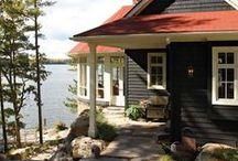 Lake house / Vapaa-ajan asuntoja