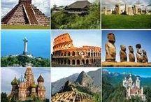Travel / Destinationer som verkar kul att resa till och ögonblick man skulle vilja se i framtiden