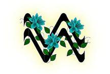 Aquarius - zodiac, astrology...
