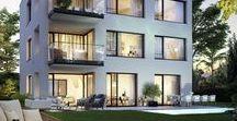 """""""Moos_15"""" Luxuswohnungen / Exklusive Penthouse Wohnungen und Gartenwohnung in Traumlage im Salzburger Stadtteil Leopoldskron kaufen."""
