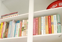 Books / For the love of books. Stacked, piled high or on the floor. Books bring life and a bit of curiosity to a room.