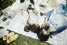 Picnic Fare / Food, fare and the like that is enjoyed outdoors.